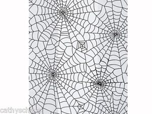 25 Halloween Spider Webs Candy Treats Birthday Party 4x2x9 Cello Goody Bags