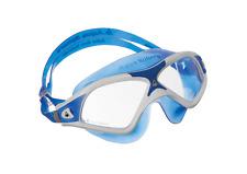 Schwimmbrille Aqua Sphere Seal XP 2 - white-blue - Scheibe transparent - 163118