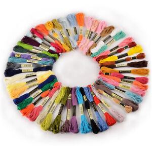 50-300 Colori Misti Ancora Ricamo Punto Croce Filo Matasse IN Cotone