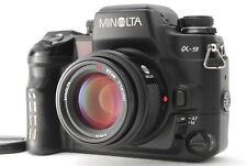 【NEAR MINT】 Minolta α-9 Alpha a-9 35mm SLR Camera + AF 50mm F1.4 Lens From Japan