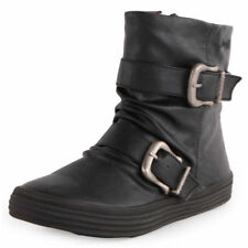 Women's Synthetic Leather Ankle Boots