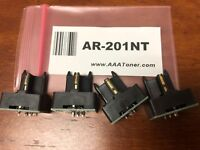 4pk - AR-201NT Toner Chip for Sharp AR-162, 162S, 163, 164, 201, 206, 207 Refill