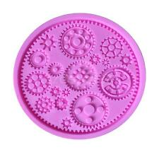 Gear Chocolate Silicone Mold Cake Decoration Fondant Sugar Craft Moulds Tool