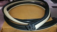 Front Side Door Weatherstrip Neutral 04-08 Chevrolet Malibu Four Door Sedan