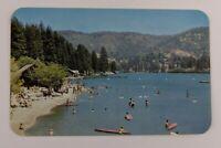 Postcard Lake Gregory San Bernardino National Forest California Recreation Area