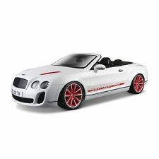 1:18 Bburago 2012 2013 Bentley Continental Supersports Isr Blancheur