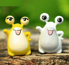 FD2376 Big Eye Frog Miniature Dollhouse Ornament Flower Pot Aquarium Craft 1pc ♫