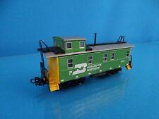 Marklin 4775 USA Caboose BURLINGTON Green-Yellow OVP TIN PLATE MODEL.