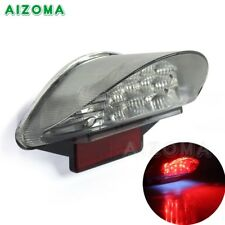 Motorcycle Tail Light License Plate Lamp Clear for BMW F650 F800 R1200 GS ADV