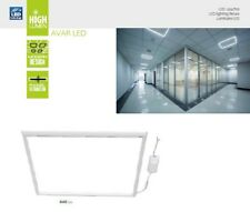 LED PANEL LIGHT 600X600MM 40w 3800lm Replacement for 4x18w T8 Suspended Lights