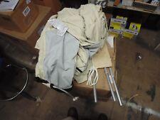 91 Maxum 17' 1700 MF Bowrider Cover w/ strap kit Putty Canvas