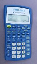 Calculatrice scientifique TI-40 Collège II