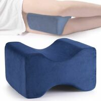 Memory Foam Contour Leg Pillow Bed Back Hips Knee Support Orthopaedic Firm