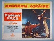 1957 Audrey Hepburn Funny Face Original Movie Lobby Card Classic Beatnik Dance