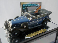 MERCEDES 770 K CABRIO AZUL BLUE 1/43 SIGNATURE MODELS