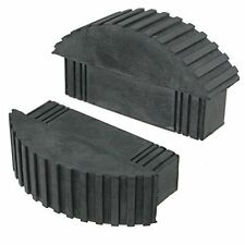 UNIVERSAL Rubber Feet For Box Section Step & Extension Ladders (Pack of 2)