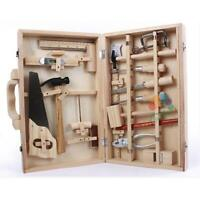Children's Repair Toy - Disassembly Woodworking Box Wooden Child-Sized Real Tool