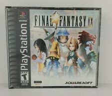 Final Fantasy IX (Sony PS1) Square Soft *No Manual* (4) Discs Tested & Works 👍