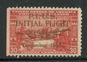 U.S. Possession Philippines Airmail stamp scott c53 - 30 cent issue - mh  10x