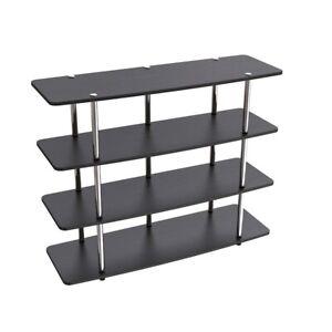 Convenience Concepts Designs2Go XL Highboy TV Stand , Black - 131372