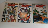 Marvel Comics G.I. Joe Order of Battle (1986)  # 2,3,4