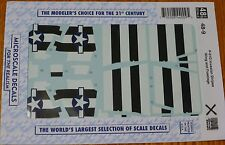 Microscale Decal 1:48 Scale #AC48-0009 / P-51D Mustang Invasion Stripes, Wing&FU