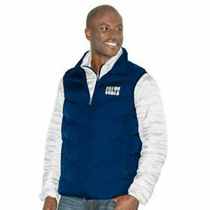 MEN'S NFL INDIANAPOLIS  COLTS G-III 3-IN-1 SYSTEM QUILTED VEST JACKET XXXLARGE