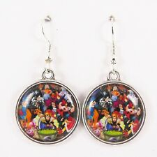 DISNEY VILLAINS EARRINGS disney goth emo maleficent ursula cruella jafar hook