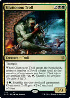 MTG Gluttonous Troll Throne of Eldraine RARE NM/M Magic the Gathering