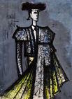 FRAMED CANVAS Art print giclee TORERO (BULLFIGHTER) Bernard Buffet