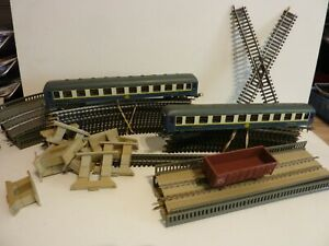Lot rails train Jouef HO
