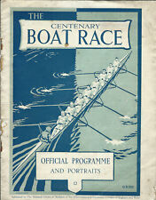 More details for 1929 - 23 march oxford & cambridge university boat race varsity rowing programme
