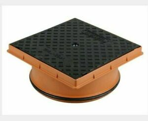 Osma Wavin Drain Drainage Chamber Cover and Frame To Suit 315mm - 4D969 Manhole