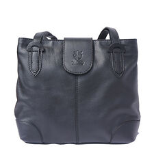 MEDIUM SHOULDER SOFT CALF-SKIN LEATHER BAG MADE IN ITALY