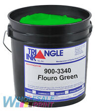 Triangle Ink 900-3340 Flouro Green screen printing plastisol 1 Quart (946ml)