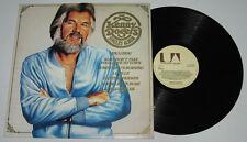 UK Pressing The KENNY ROGERS Singles Album LP Record