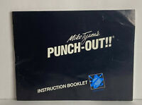 Mike Tysons Punch Out Instruction Manual NES Booklet Only NO Game
