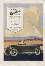 1918 Vintage Studebaker & Johnson's Carbon Remover Ad -Ephemera