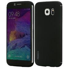 Original ROCK Smartcover Schwarz für Samsung Galaxy S6 G920 G920F Cover 2x Folie