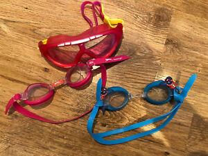 3x Swimming Goggles