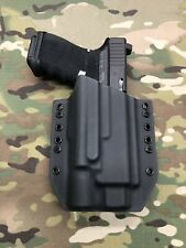 Black Kydex Holster for Glock 19 23 Threaded Barrel Surefire X300 Ultra B Model