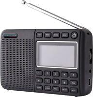Powapacs New DAB+ Pro FM Rechargeable Digital & FM Radio Bluetooth Carp Fishing