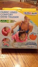 Swimschool Fabric Lined comfort swim trainer, color PINK.