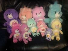 Lot Of 10 Care Bear Care Bears & Cousin Plush  Stuffed Cheer