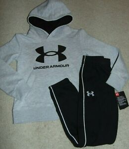 ~NWT Boys UNDER ARMOUR Hoodie Outfit! Size 5 Super Cute:)!!