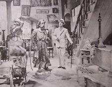 MONSIEUR VERDOUX comedy of murders Charlie Chaplin 1947 publicity photo B&W