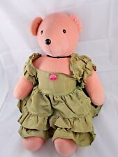 "North American Bear Co Pink Teddy Bear Scarlett O'Beara Plush 21"" 1979"
