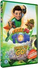 Tree Fu Tom: Tree Fu Go DVD 2012 Adam Shaw CERT. U CBeebies Children Family NEW
