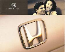 1996 Honda Civic Accord  Prelude Odyssey Passport Dealer Brochure