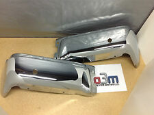 Ford F-150 Genuine OEM new Rear Chrome Bumper RH & LH w/ sensor holes 17906-B